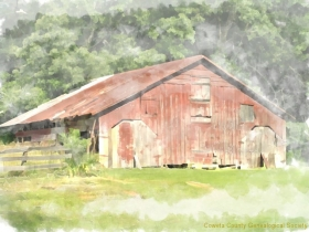 Bill Lowery Barn in Grantville, Coweta, Ga